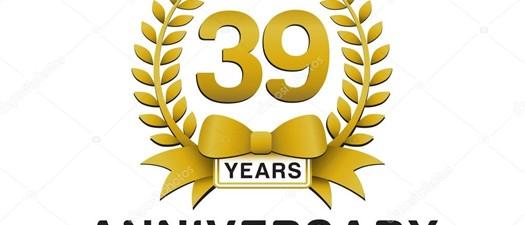 39th Anniversary Dinner