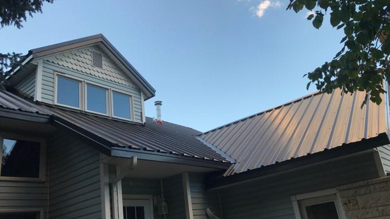 24 Gauge PBR Panel Metal Roof