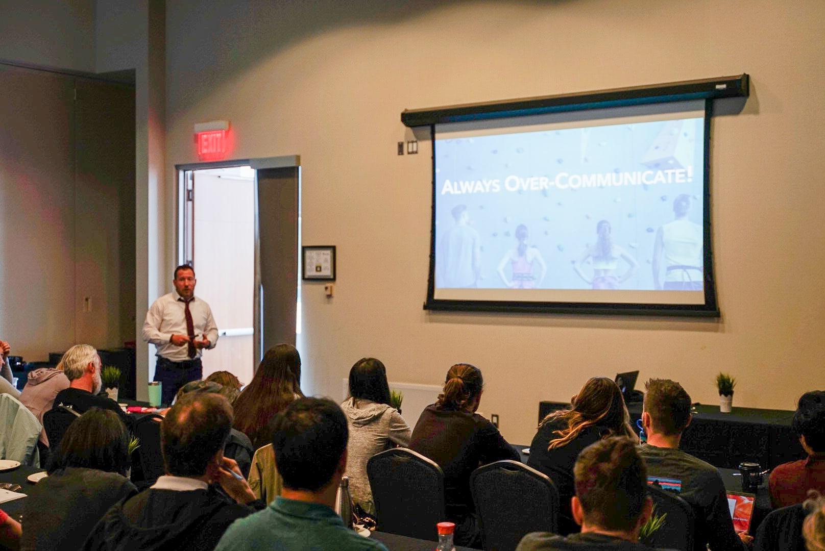 Chris Stevenson CWA Meetings Keynote