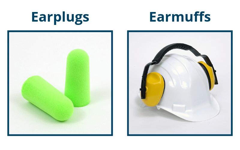 Earplugs and Earmuffs