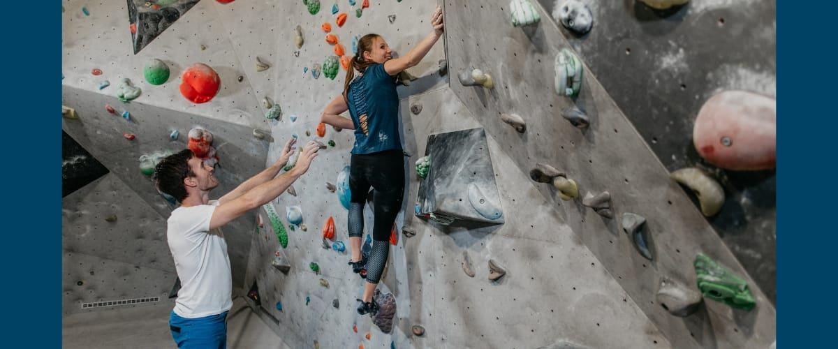 Spotting the Climber