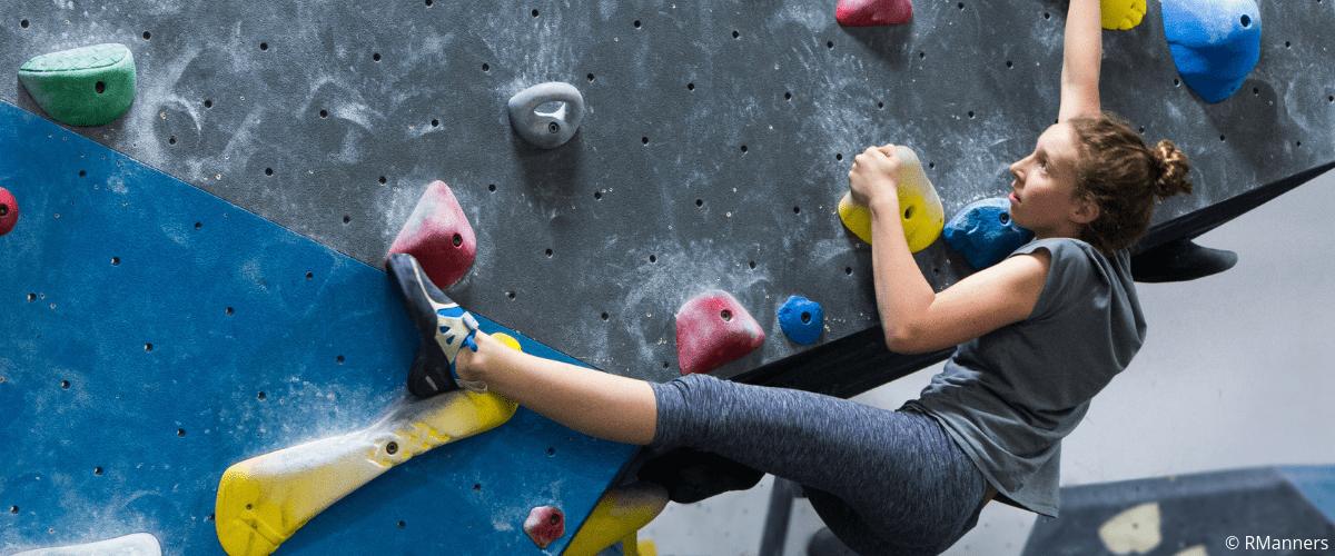 Youth Climbing Team Athlete
