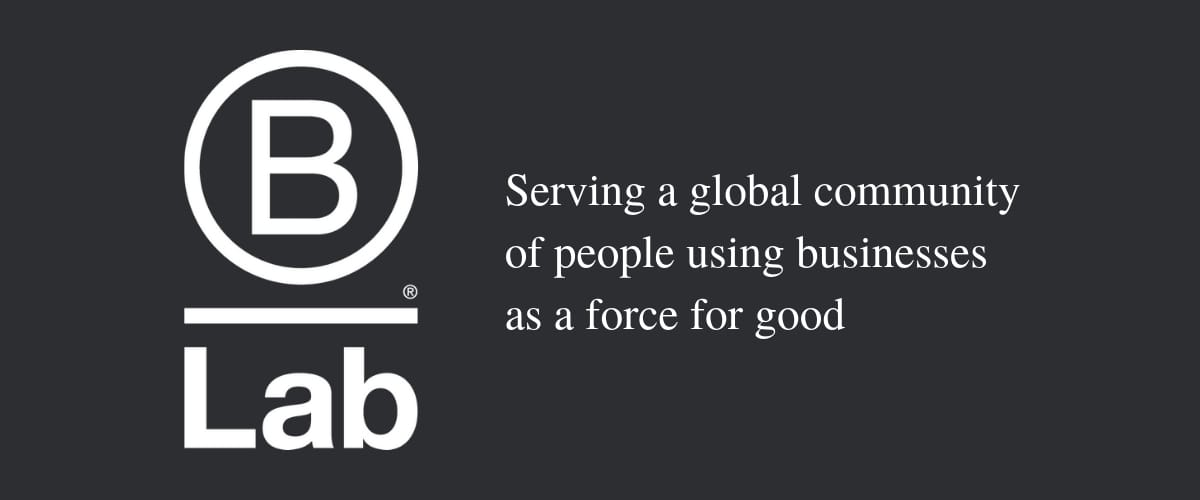 B Lab Business as a Force for Good