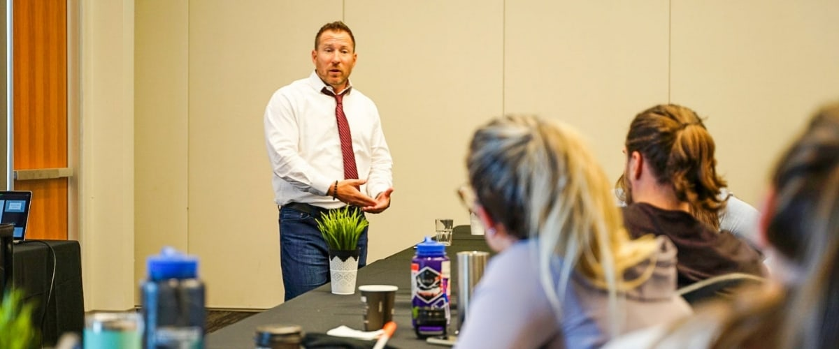Chris Stevenson Speaking at CWA Meetings Calgary