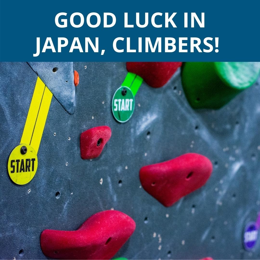Good luck in Japan
