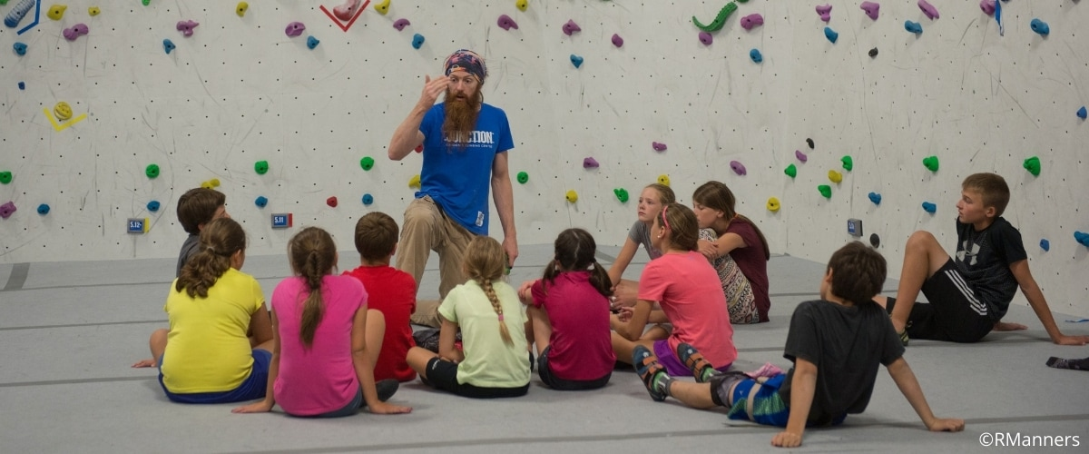Youth Climbing Behavior Management