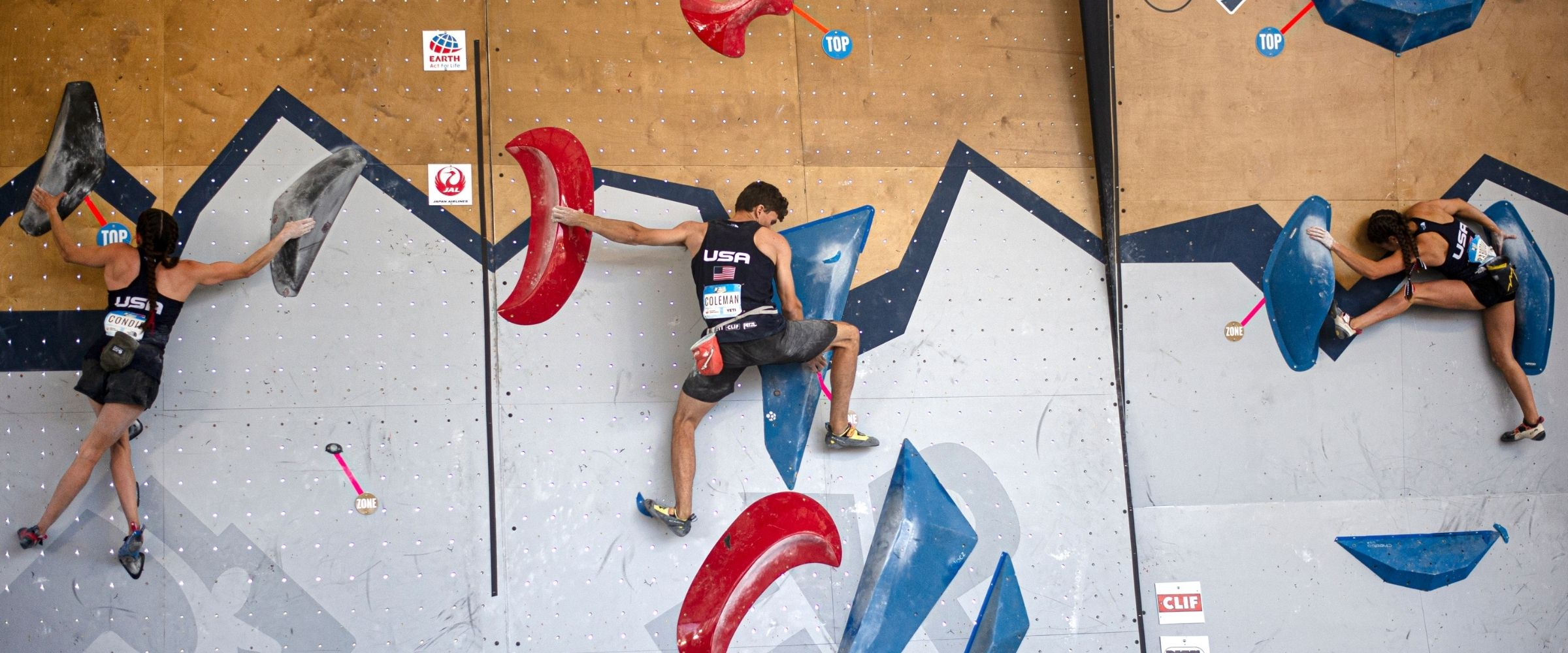 World Cup Rock Climbing Competition