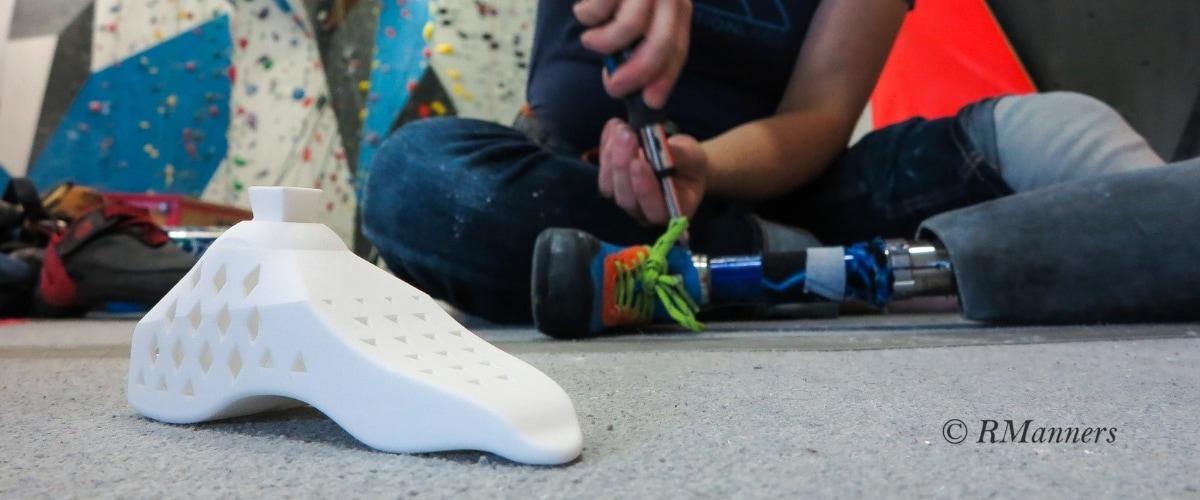 Prosthetic Climbing Shoe