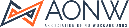 Association of No Workarounds Logo