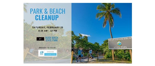 Park & Beach Cleanup at Birch State Park