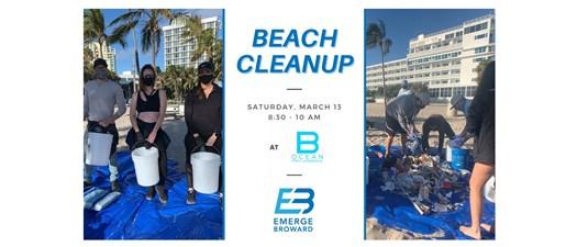 B Safe Beach Cleanup