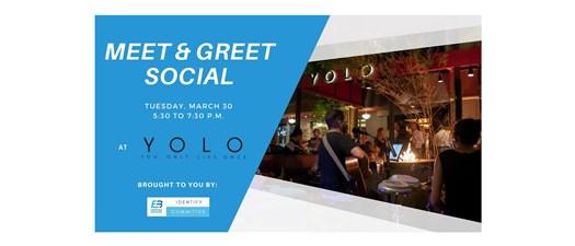 Meet and Greet Social at YOLO's O-Lounge