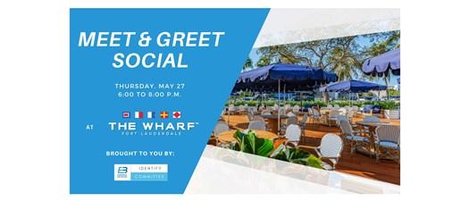 May Meet and Greet Social at The Wharf