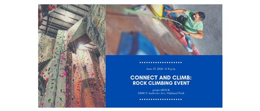 Connect and Climb: Rock Climbing Event