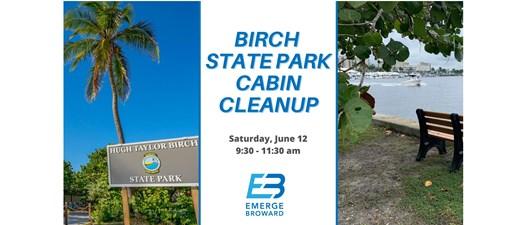 Birch State Park Cabin Cleanup