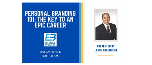 Personal Branding 101: The Key To An Epic Career