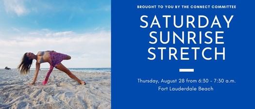 Saturday Sunrise Stretch!