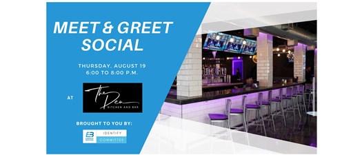Meet and Greet Social at The Den Kitchen and Bar
