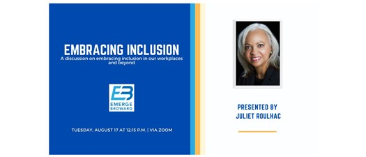 Embracing Inclusion with Juliet Roulhac