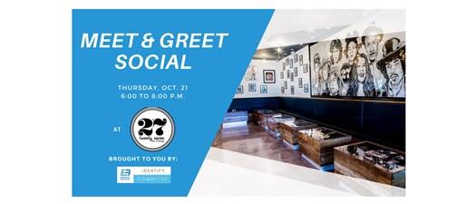 Meet and Greet Social at 27 Bar & Lounge