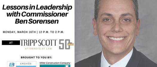 Lessons in Leadership with Commissioner Ben Sorensen