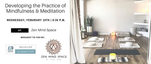 Developing the Practice of Mindfulness & Meditation