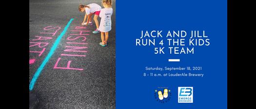 Jack & Jill 2nd Annual RUN 4 THE KIDS 5K! - EB Team