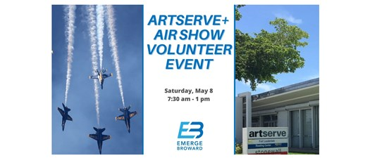 FTL Air Show Volunteer Event with ArtServe
