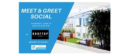 June Meet and Greet Social at Rooftop