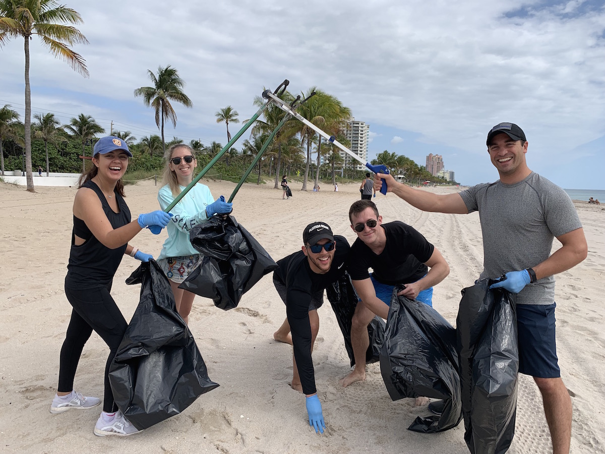 Beach Cleanup Fun