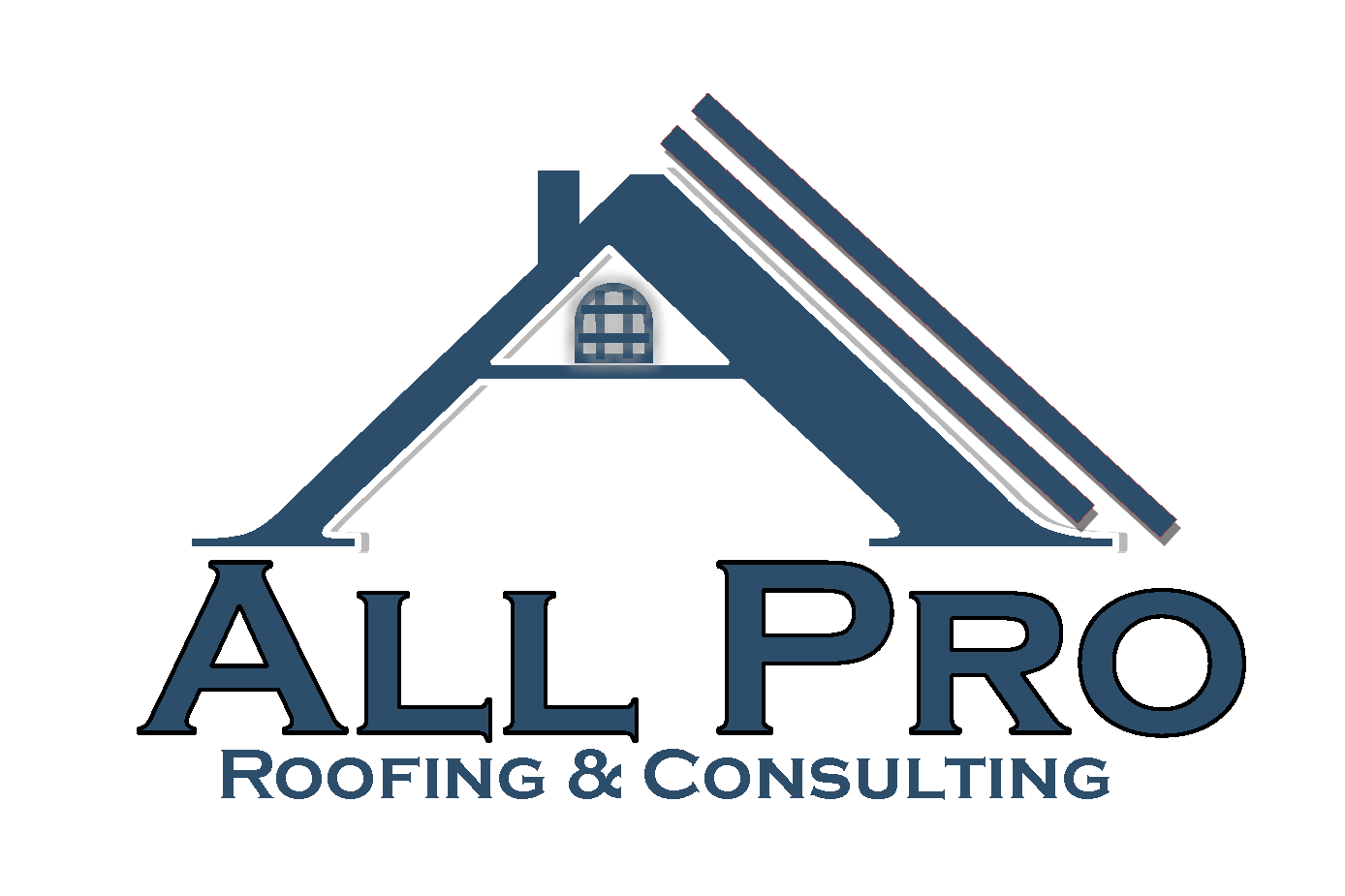 all pro roofing logo