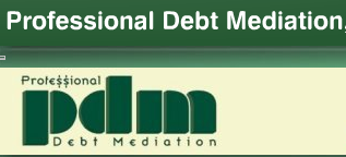 professional debt mediation logo