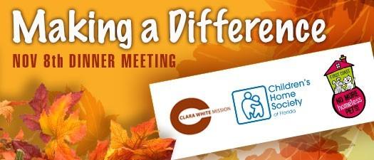November Dinner Meeting