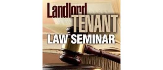 2020 Landlord Tenant Law Presented by: Harry Heist