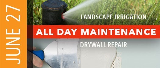 Landscape Irrigation and Paint & Drywall Repair