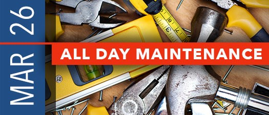 All Day Maintenance - #5 TBD