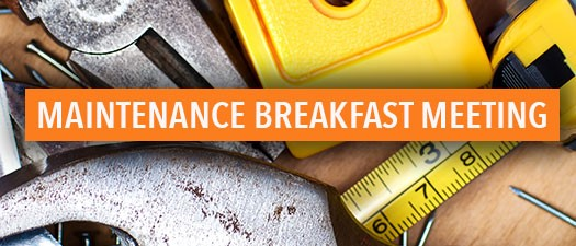 Maintenance Breakfast - Take Control of Your Career