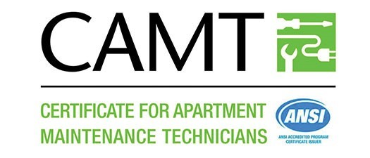 CAMT (Certificate for Apartment Maintenance Technician)  - Summer 2019