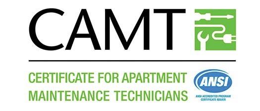 CAMT (Certificate for Apartment Maintenance Technician) Summer 2021