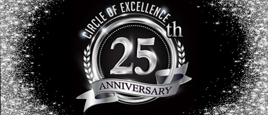 Circle of Excellence 25th Anniversary Tickets - 2020