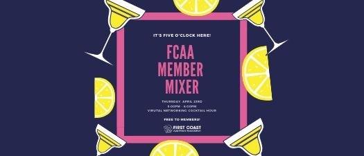 FCAA Member Mixer: It's 5 o'clock here!