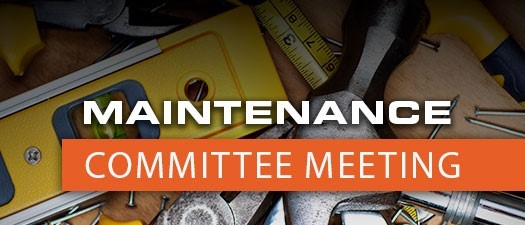 2021 Maintenance Committee Meeting  - January