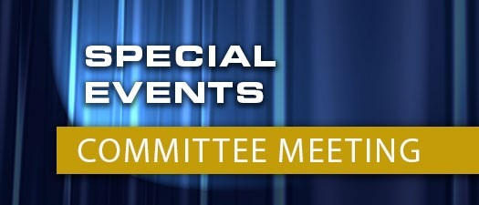 Special Events Committee Meeting