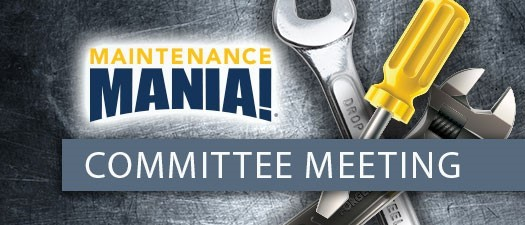 Maintenance Mania Committee Meeting