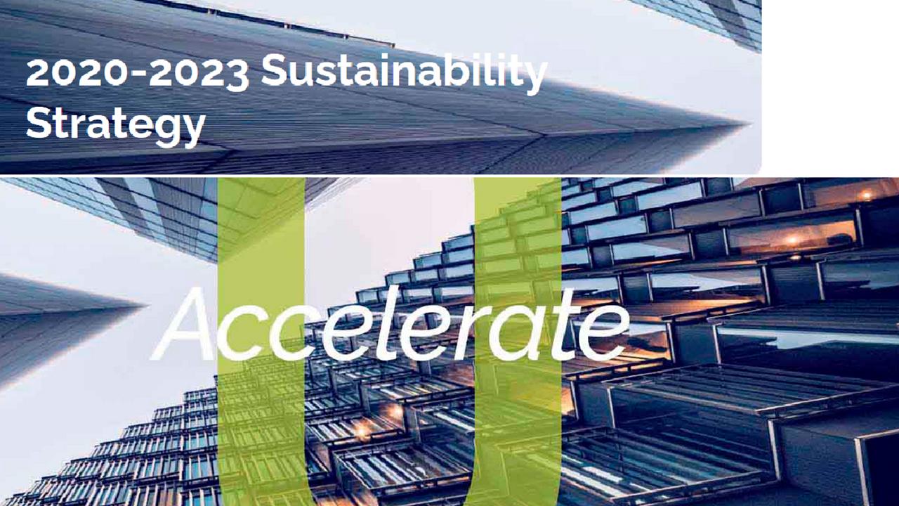2020-2023 Sustainability Strategy