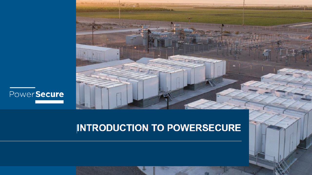 Introduction to PowerSecure