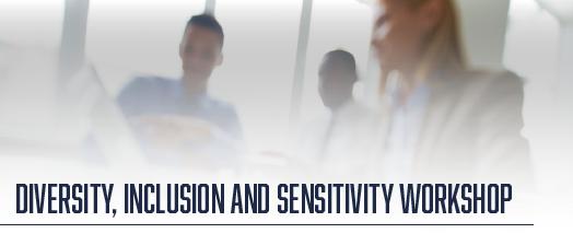 2021 Diversity, Inclusion and Sensitivity Workshop