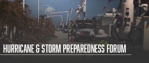 Hurricane & Storm Preparedness Forum