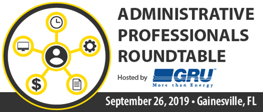 2019 Administrative Professionals Roundtable
