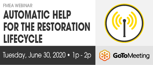 2020 FMEA Webinar: Automatic Help for the Restoration Lifecycle